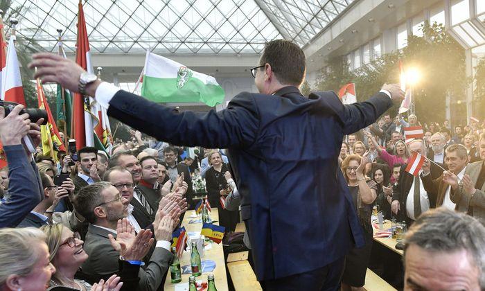 Heinz Christian Strache beim FPÖ-Neujahrstreffen