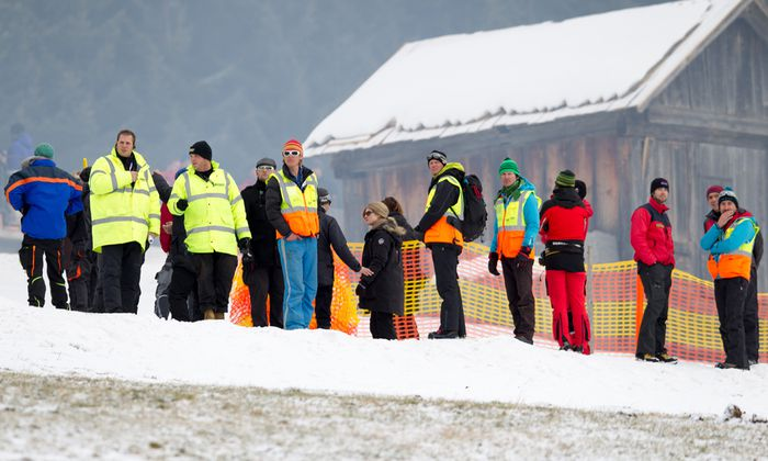 DREHARBEITEN ZUM NEUEN JAMES BOND-FILM ´SPECTRE´ IN OBERTILLIACH