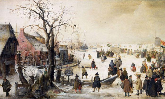 """Auf den Winterbildern von Hendrik Avercamp zeigt sich die """"Kleine Eiszeit"""" von ihrer pittoresken Seite. Das trügt. Auf den Winterbildern von Hendrik Avercamp zeigt sich die """"Kleine Eiszeit"""" von ihrer pittoresken Seite. Das trügt."""