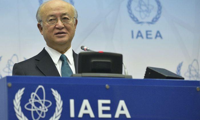 Yukiya Amano, Generaldirektor der Internationalen Atomenergieorganisation