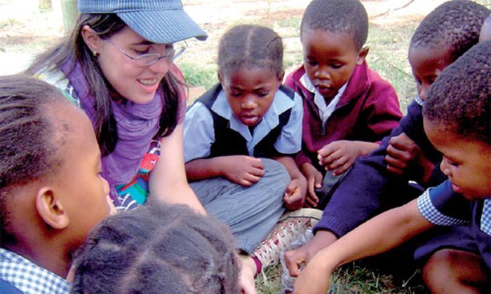 Suedafrika Schule Schutz Leben