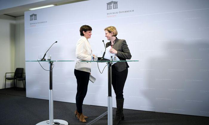 Pamela Rendi-Wagner (SPÖ) und Beate Meinl-Reisinger (Neos)