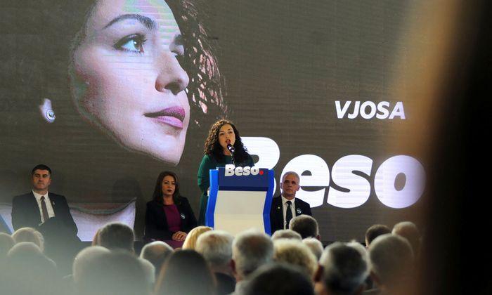 Opposition gewinnt Parlamentswahl im Kosovo