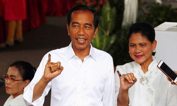In Indonesien kann Präsident Joko Widodo fünf weitere Jahre regieren