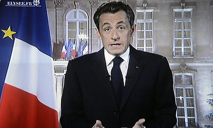 FRANCE YEARS END MESSAGE BY NICOLAS SARKOZYS END MESSAGE BY NICOLAS SARKOZY