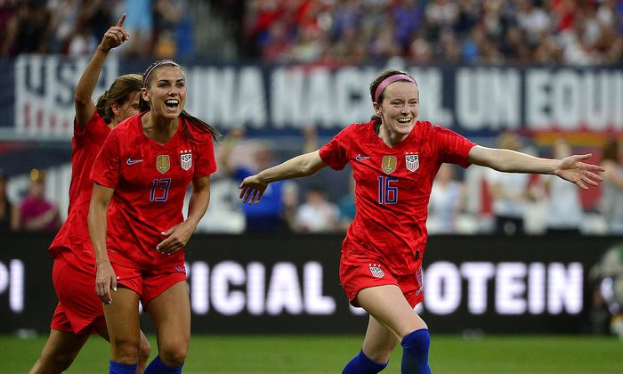 Das US-Team jubelt