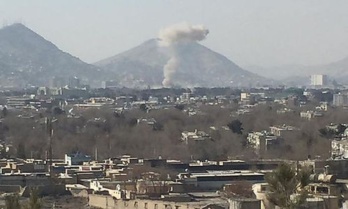 Explosion im Stadtzentrum von Kabul
