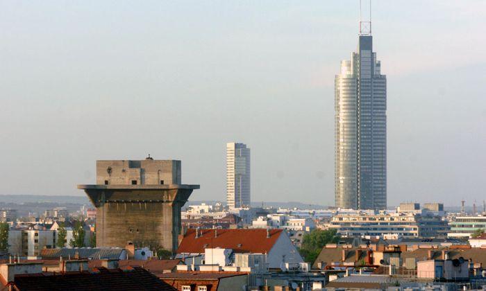 Der Millennium Tower als Landmark der Brigittenau – trendig ist der Bezirk nur nahe des Augartens in der Leopoldstadt.