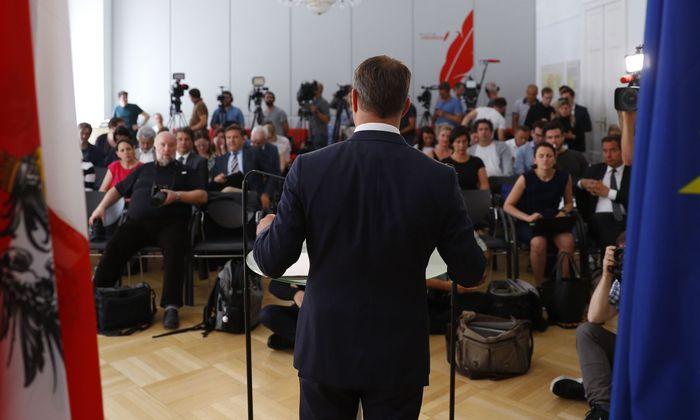 Matthias Strolz gibt seinen Rücktritt bekannt