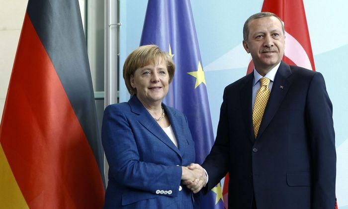 Archivbild: Merkel und Erdogan