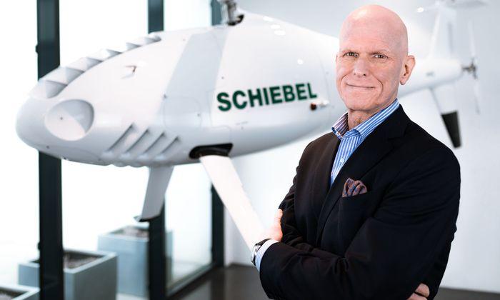 Hannes Hecher, CEO Schiebel