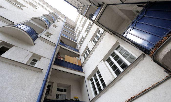 Wiener Gemeindebau Metzleinstaler Hof