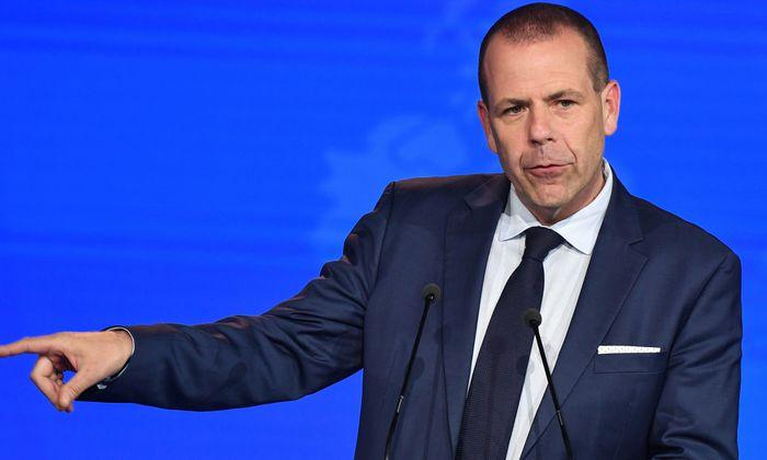 Harald Vilimsky, Generalsekretär der FPÖ und freiheitlicher Delegationsleiter im EU-Parlament.