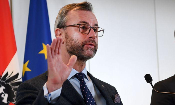 Infrastrukturminister Norbert Hofer