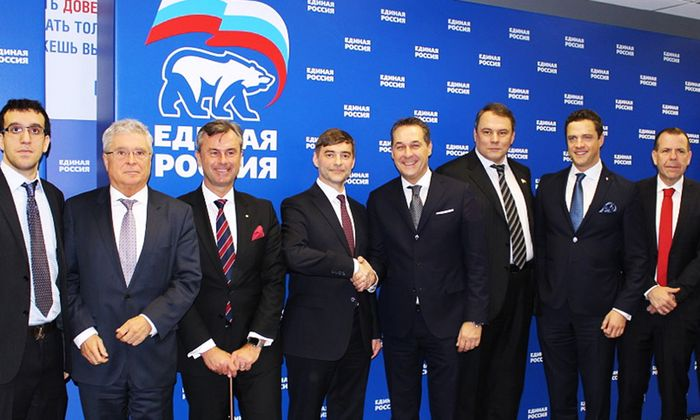 FPÖ schließt Fünf-Jahres-Vertrag mit Kreml-Partei