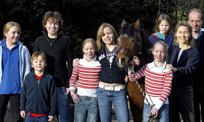 GERMANY-POLITICS-FAMILY-LEYEN =