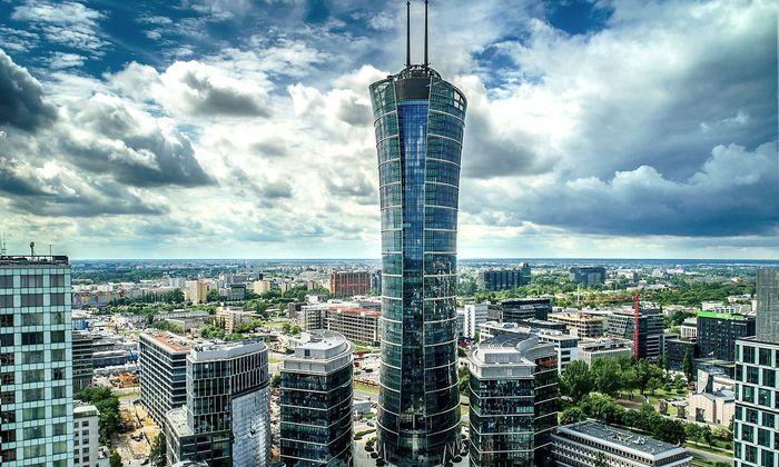 Spire Tower in Warschau.