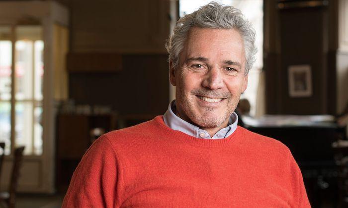 Peter Edelmann verrät im Café Westend erste Details der Produktion.