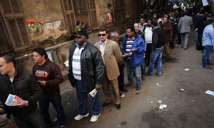 Hohe Beteiligung Parlamentswahl aegypten