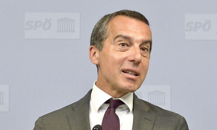 Ex-Kanzler Christian Kern ist Aufsichtsrat der Russischen Bahn