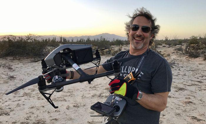 """Dreharbeiten in Mexiko: Richard Ladkani schildert in """"Sea of Shadows"""" die mafiösen Machenschaften, die die Artenvielfalt am Golf von Kalifornien bedrohen."""