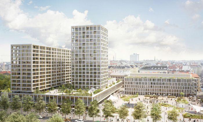 Das Projekt vom Turmbau am Heumarkt ist ausgesetzt.