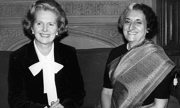 Margaret Thatcher Indira Gandhi