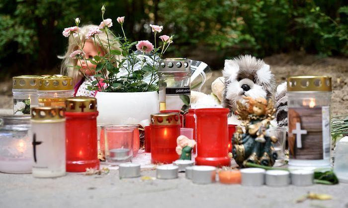 Trauer um die getötete Siebenjähritge Anfang Mai in Wien-Döbling