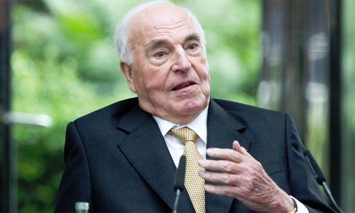 Helmut Kohl verteidigt Aussage