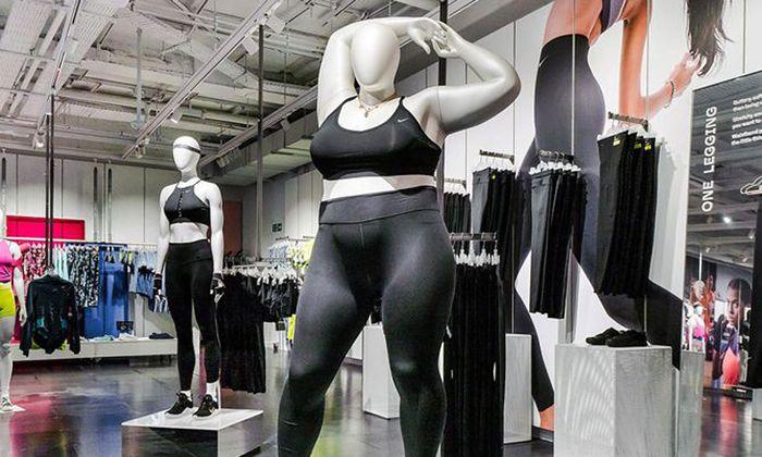 Die neuen Schaufensterpuppen sollen Nikes Mode inklusiver machen.
