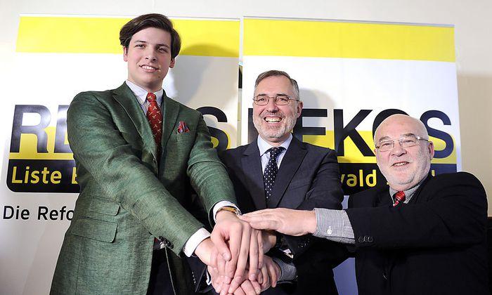 PK ' REKOS - ANTRITT BEI EU-WAHL': STADTLER / GEHRING / TSCHUGGUEL