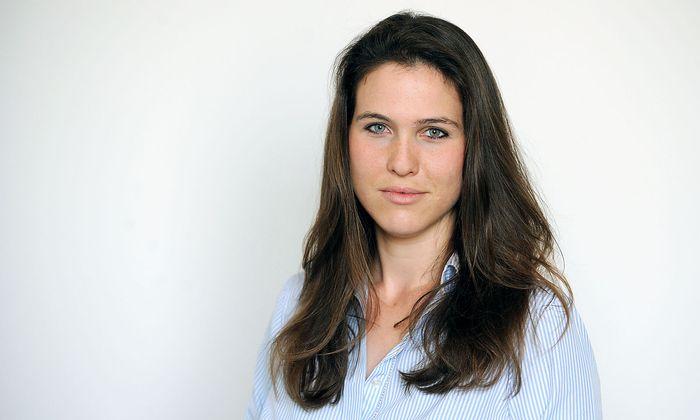 """Antonia Löffler ist studierte Juristin und seit 2015 bei der """"Presse""""."""