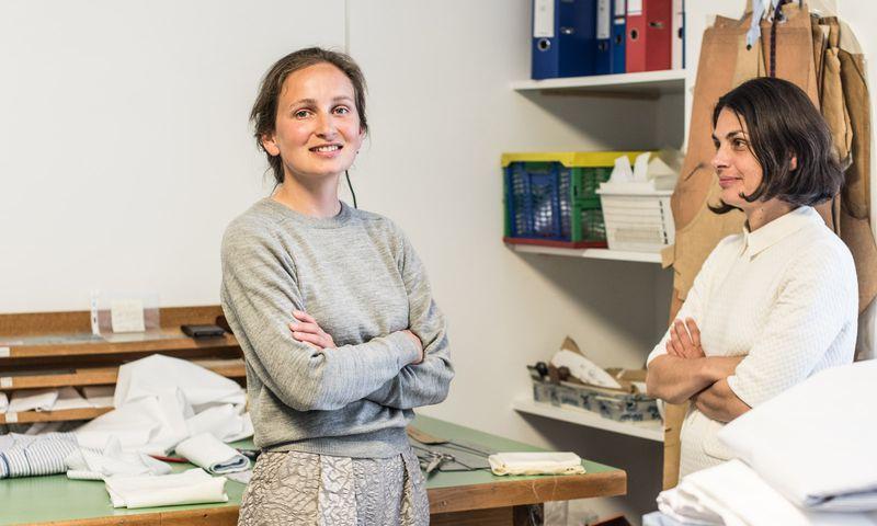 Unternehmergeist plus Kreativität: Ali Zedwitz und Beatrix Stekl.  / Bild: (c) Christine Pichler
