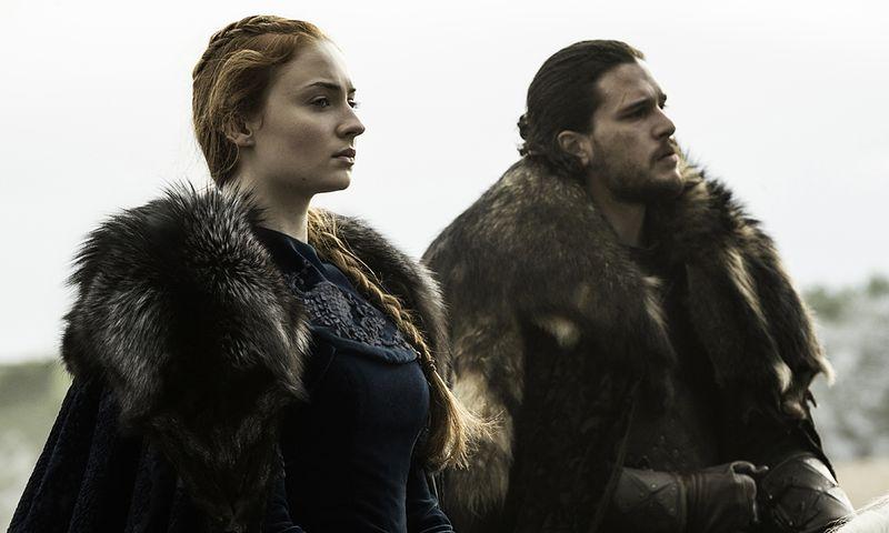 Sansa und Jon