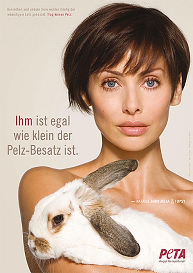 Peta-Promis: Lieber nackt als im Pelz   DiePresse.com
