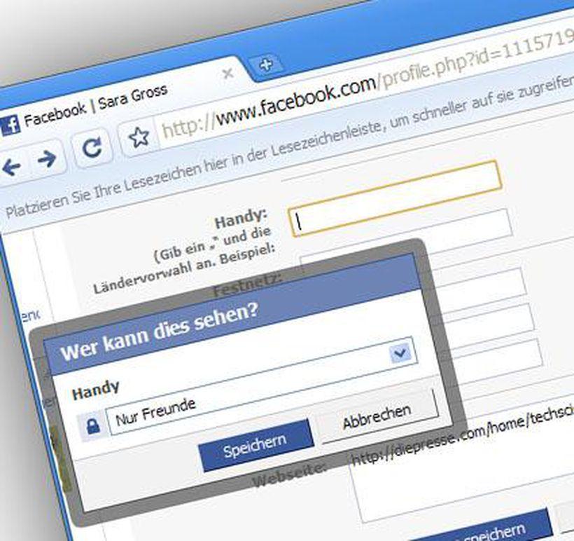 Facebook Auf Privat Stellen