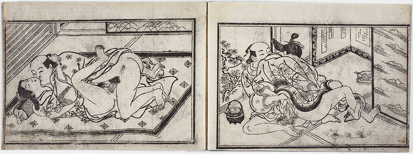 Nicht jugendfrei: Shunga, erotische Kunst aus Japan im MAK
