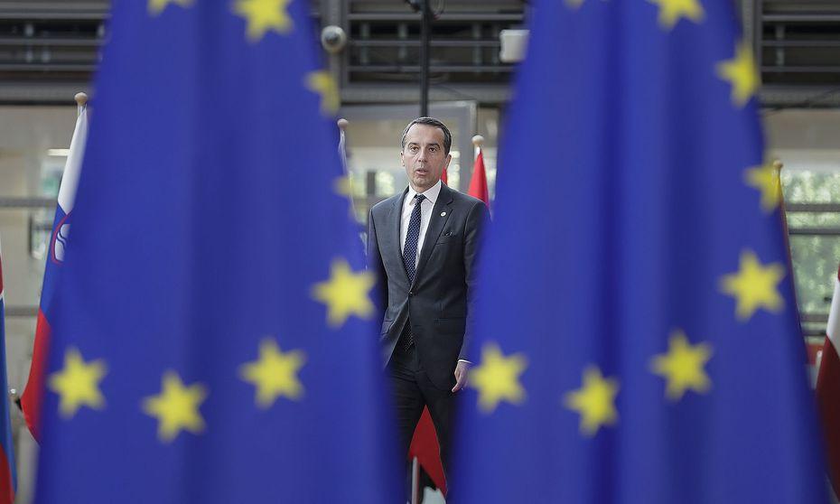 Bundeskanzler Christian Kern in Brüssel. / Bild: APA/BKA/ANDY WENZEL
