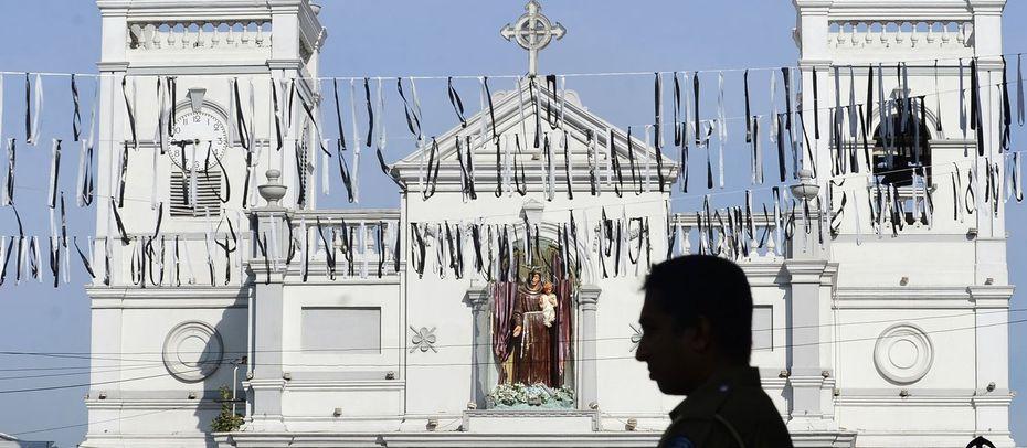 Sri Lanka nach den tödlichen Attacken. / Bild: (c) AFP (LAKRUWAN WANNIARACHCHI)