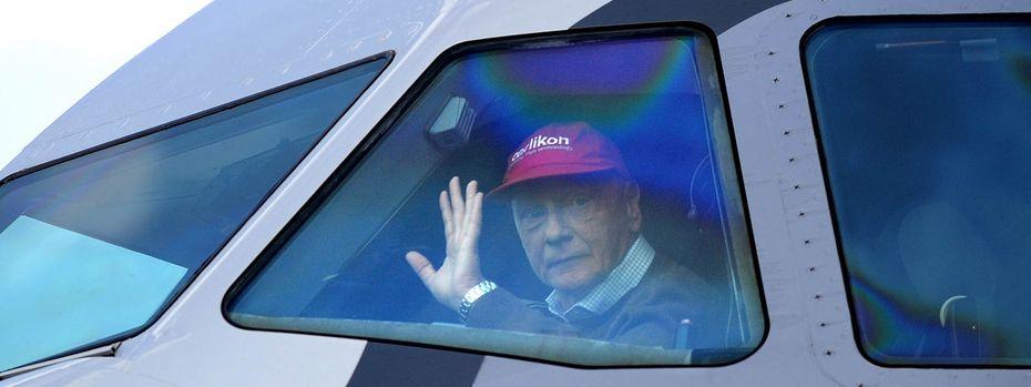 Lauda zeigt Interesse an Niki. / Bild: APA/BARBARA GINDL