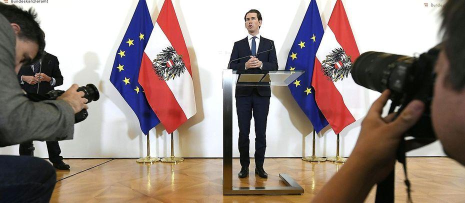Bundeskanzler Sebastian Kurz, ÖVP / Bild: APA/HANS KLAUS TECHT