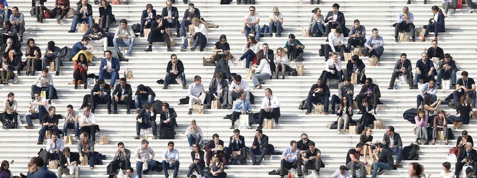"""Welche von diesen Leuten sind """"nice guys"""", welche unangenehm im Umgang? Psychologen können das mit wissenschaftlicher Präzision feststellen. / Bild: (c) Reuters (Charles Platiau)"""