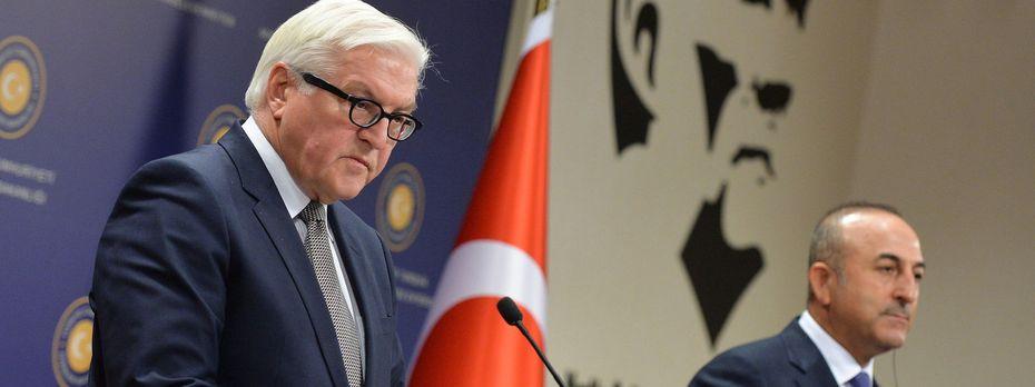 Archivbild: Der deutsche Bundespräsident Frank-Walter Steinmeier findet harte Worte. / Bild: (c) Reuters