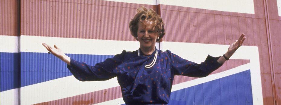"""Die spätere Premierministerin Thatcher 1975: """"Kenne kein Land der westlichen Welt, in dem eine Volksabstimmung benutzt wurde, um eine Vertragsverpflichtung zu übertrumpfen."""" / Bild: The LIFE Images Collection/Getty"""