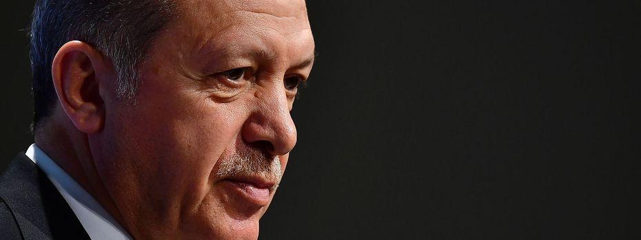 Recep Tayyip Erdogan / Bild: APA/AFP/TOBIAS SCHWARZ