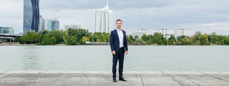 """Gernot Blümel, zerrissen zwischen Bund und Wien: Für eine Koalition mit Michael Ludwigs SPÖ im Rathaus verlangt er """"mehr Gestaltungswillen"""" des Bürgermeisters. / Bild: (c) Valerie Voithofer"""
