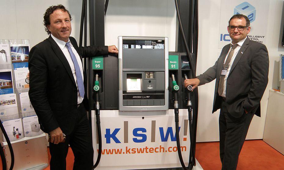 Die beiden KSW-Geschäftsführer,  Josef Schneider (li.) und Stefan Walser, haben das Unternehmen 1993 gegründet. /