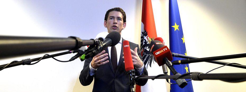 ÖVP-Chef Sebastian Kurz / Bild: APA (HERBERT PFARRHOFER)