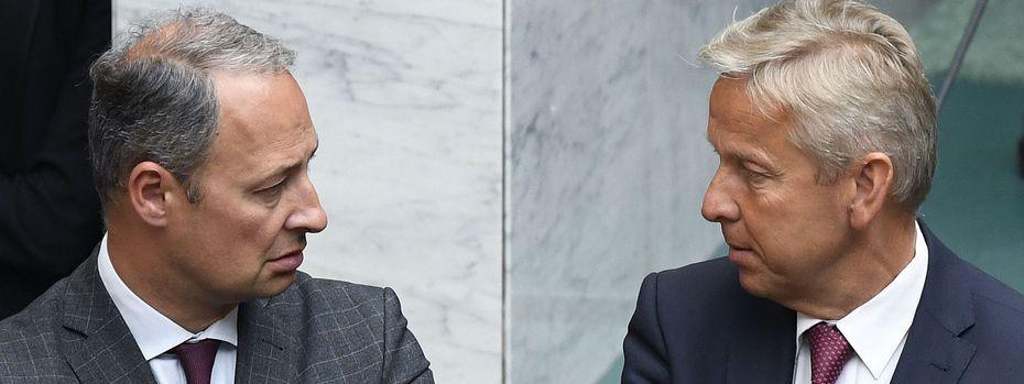 Andreas Schieder und Reinhold Lopatka / Bild: APA/ROBERT JAEGER