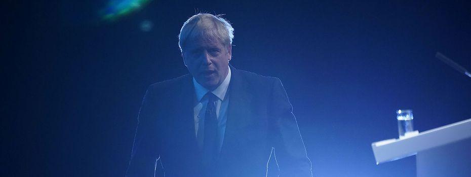 Boris Johnson bei einem Auftritt in Manchester / Bild: (c) Getty Images (Christopher Furlong)